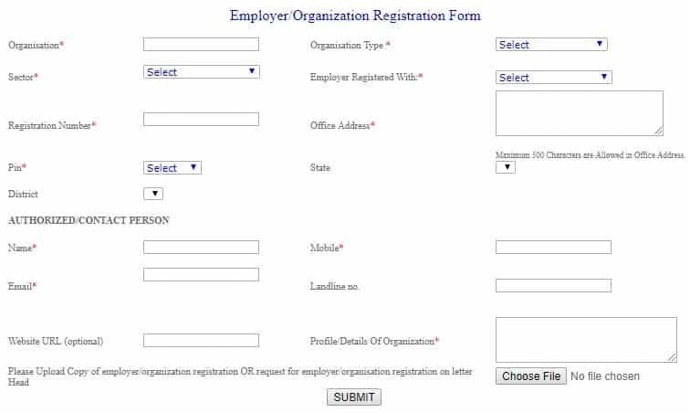 Delhi Job Fair Registration Employers