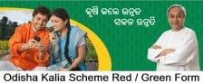 Odisha Kalia Scheme Red Green Form