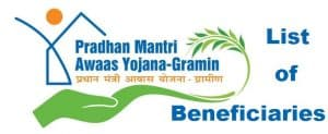 Pradhan Mantri Awas Yojana Gramin List 2020 – PMAY-G List of Beneficiaries / Waiting