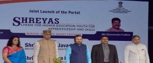 Scheme for Higher Education Youth in Apprenticeship and Skills (SHREYAS)
