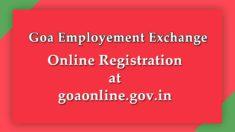 Goa Online Registration