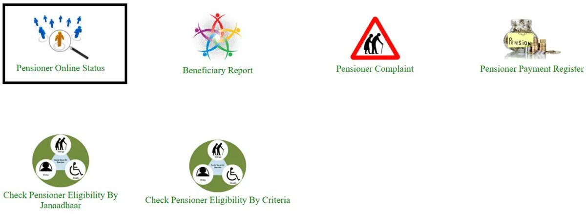 Rajasthan Old Farmer Pensioner Online Status Link