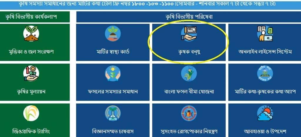 West Bengal Krishak Bandhu Yojana Apply Online
