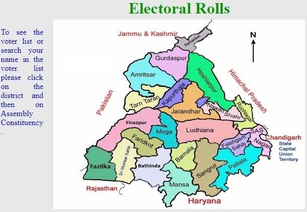 CEO Punjab Voter List 2019