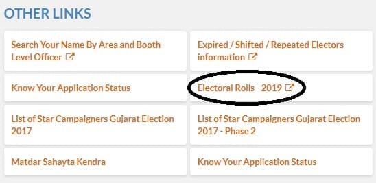 Gujarat CEO Electoral Rolls PDF Download