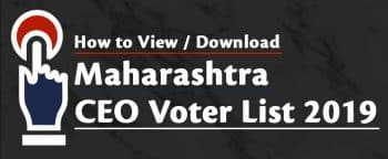 Maharashtra CEO Voter List 2019