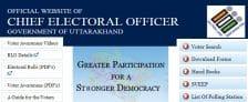 Uttarakhand CEO Voter List PDF Voters ID Card Download