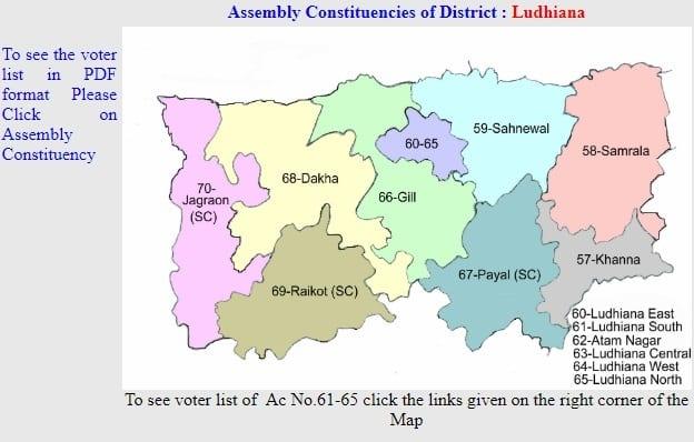 Voter List Ludhiana 2019