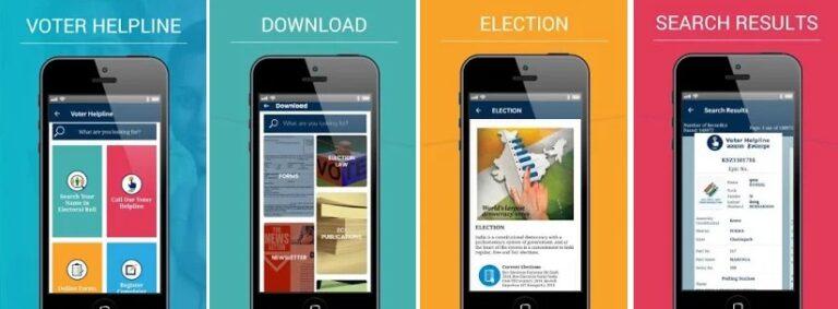 Voter Online Service App