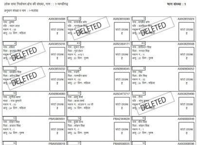 Chandigarh Voter List 2018 2019 PDF Download