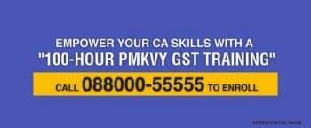 PMKVY GST Training