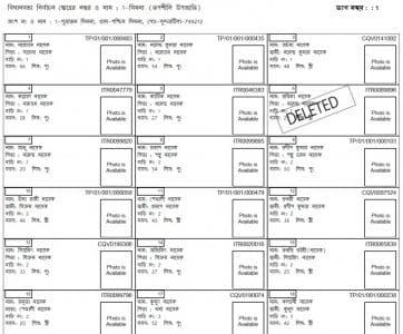 Tripura Voter List PDF Download