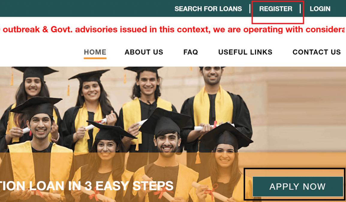 Education Loan Apply Online Vidyalakshmi Portal
