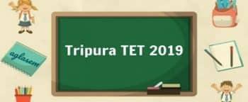 Fillup Tripura TET Online Application Form Exam Date Syllabus