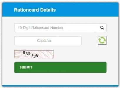 Kerala New Ration Card Details in Malayalam