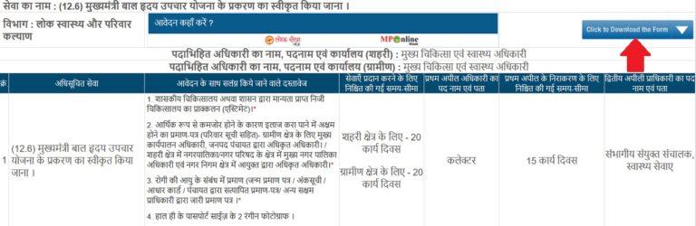 Madhya Pradesh Samaj Kalyan Vibhag Portal
