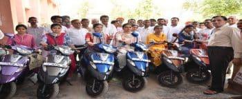 Medhavi Chatra Scooty Vitran Yojana Form Rajasthan