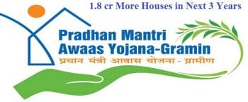PM Awas Yojana Gramin PMAY-G Housing 1.8 Cr Rural Homes