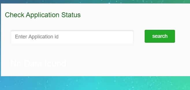 Bangla Shasya Bima Yojana Application Status
