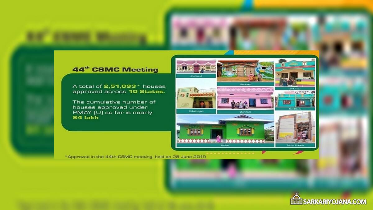 CSMC 44 Meeting PMAY Urban Housing