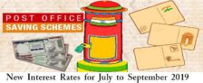 Post Office Saving Schemes New Interest Rate Table