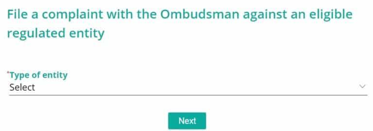 RBI CMS App File Complaint