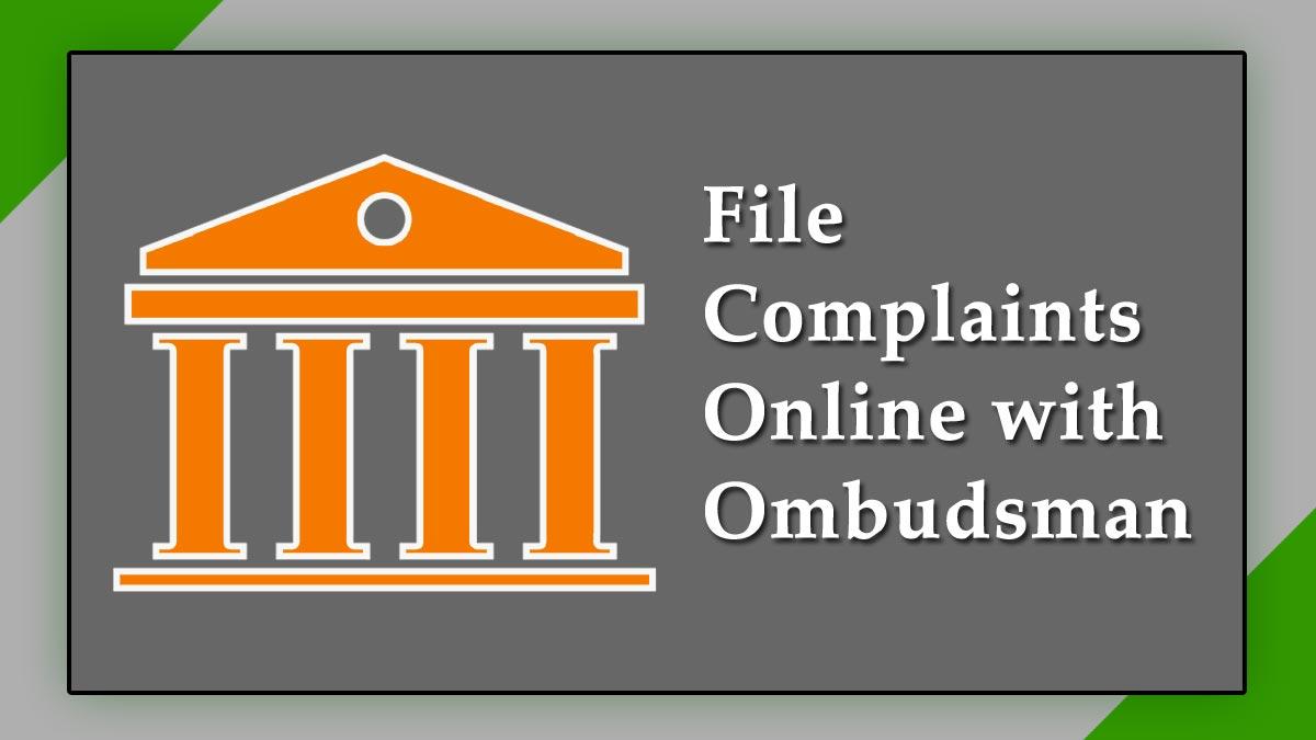 RBI CMS Portal Lodge Complaints Online Against Banks NBFCs