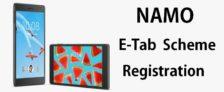 NAMO E Tab Scheme Registration – Apply for Acer / Lenovo Tablet in Gujarat