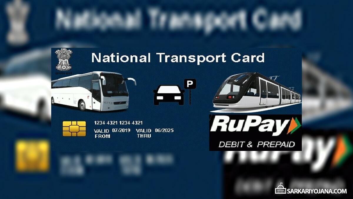 National Transport Card Railways Bus Metros