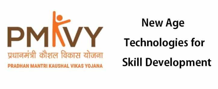 Revamp PM Kaushal Vikas Yojana PMKVY New Age Technologies