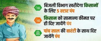 CM 5 Star Rating Pump Set Scheme Farmers Energy Conservation