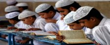 MP Mid Day Meal Madrassa Students