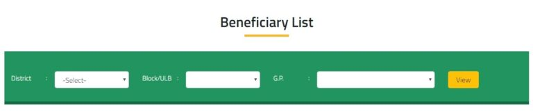 Odisha Kalia Yojana Final List of Beneficiaries