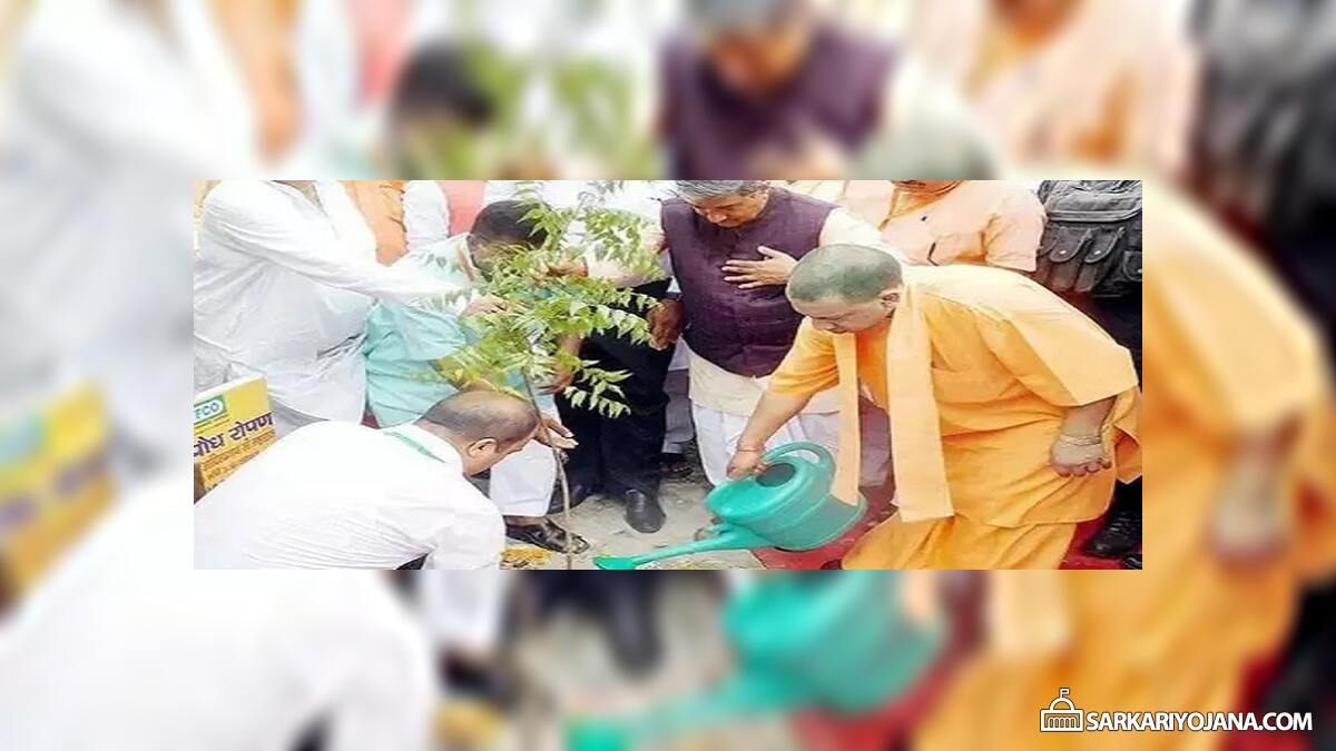 UP Vriksharopan Mahakumbh – Yogi Govt. to Plant 22 Crore Saplings (Trees)