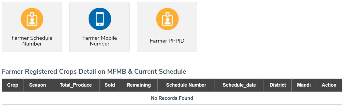 ekharid.haryana.gov.in Set Schedule