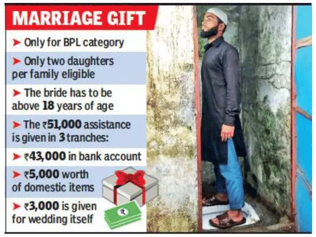 MP Selfie With Toilet Scheme Bride Groom