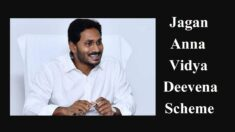 AP Jagananna Vidya Deevena Scheme (YSR Fee Reimbursement) Apply Online Form 2021 / Date / Amount / Status