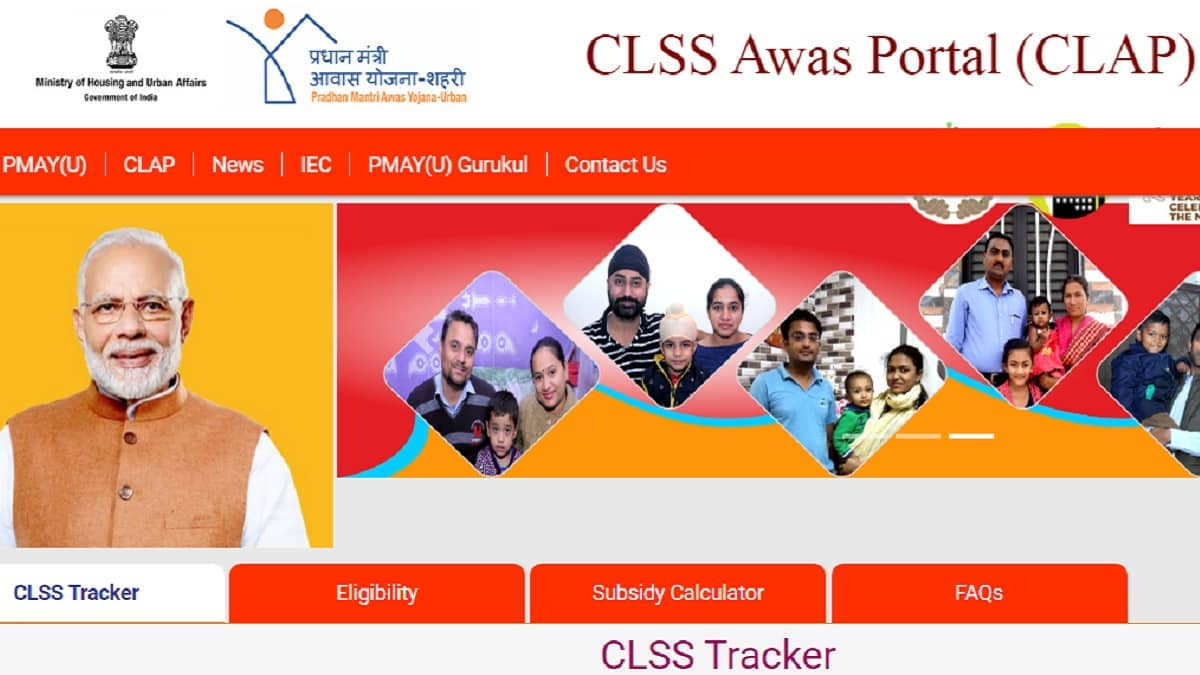 CLSS Awas Portal Clap PMAY Urban