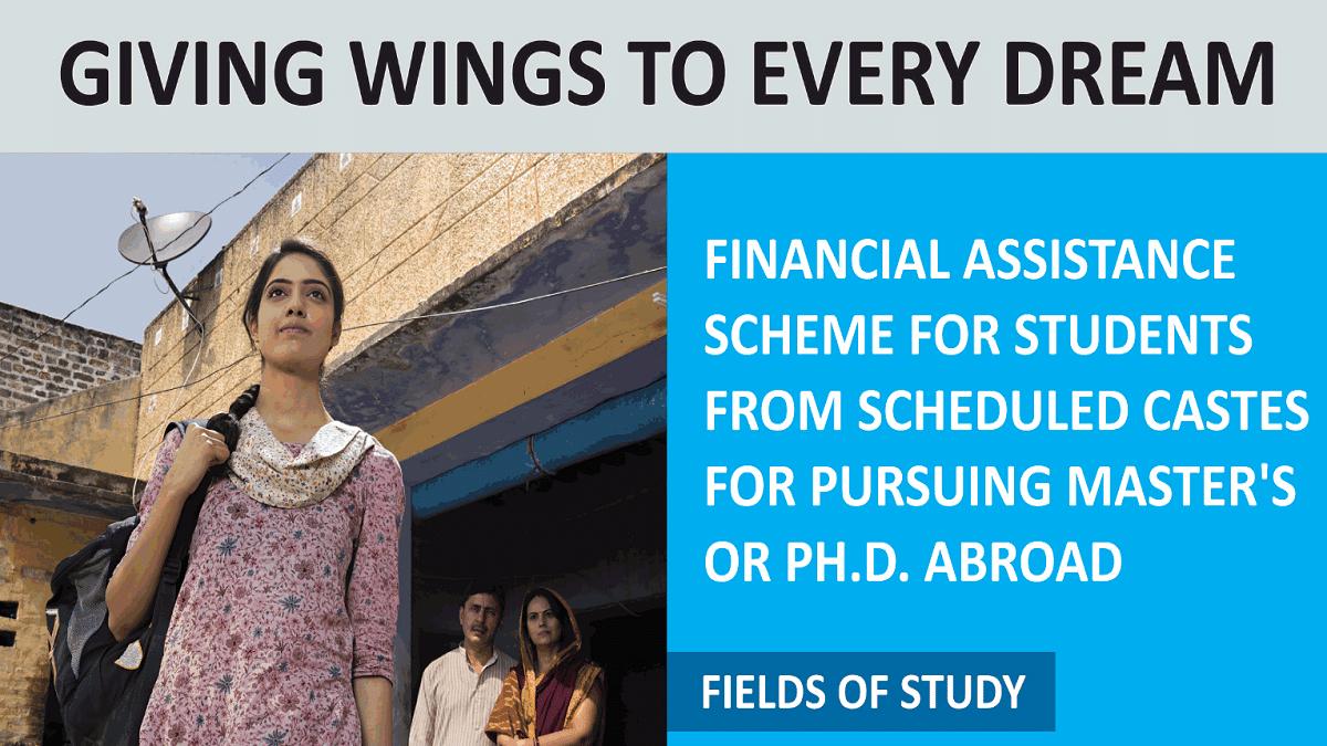 Delhi SC Overseas Scholarship Scheme 2020