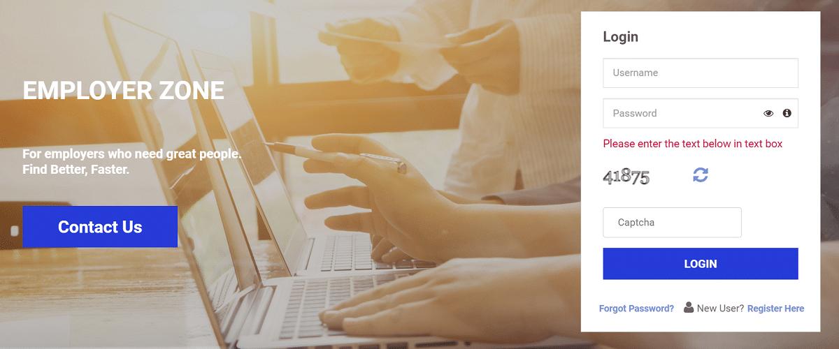 Employer Login Vacancy Mprojgar Gov Portal