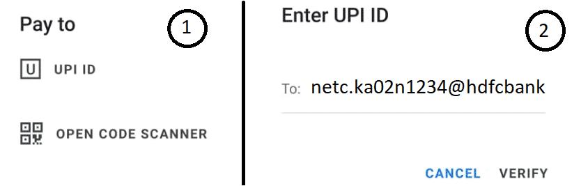 Fastag Bhim UPI ID Google Pay