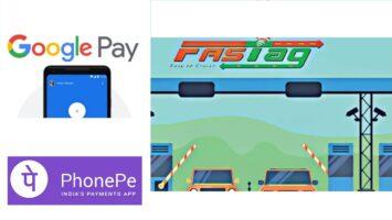 Recharge Fastag Google Pay Phone Pe Bhim UPI ID