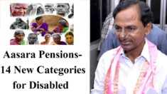 Telangana Aasara Pension Scheme Category List Persons With Disabilities