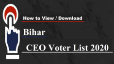 Bihar Voter List ID Card Download