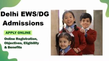 Delhi EWS / DG Admission Apply Online