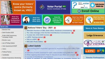 Delhi Voter List ID Card Download