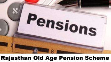 Rajasthan Old Age Pension Yojana