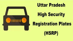 UP HSRP Number Plates Apply Online