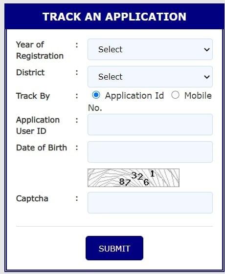 Aikyashree Scholarship Track Application Status