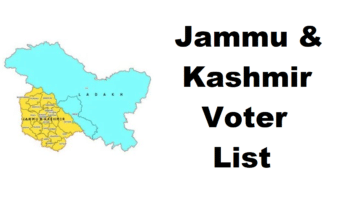 Ceojk Nic In Voter List ID Card Download